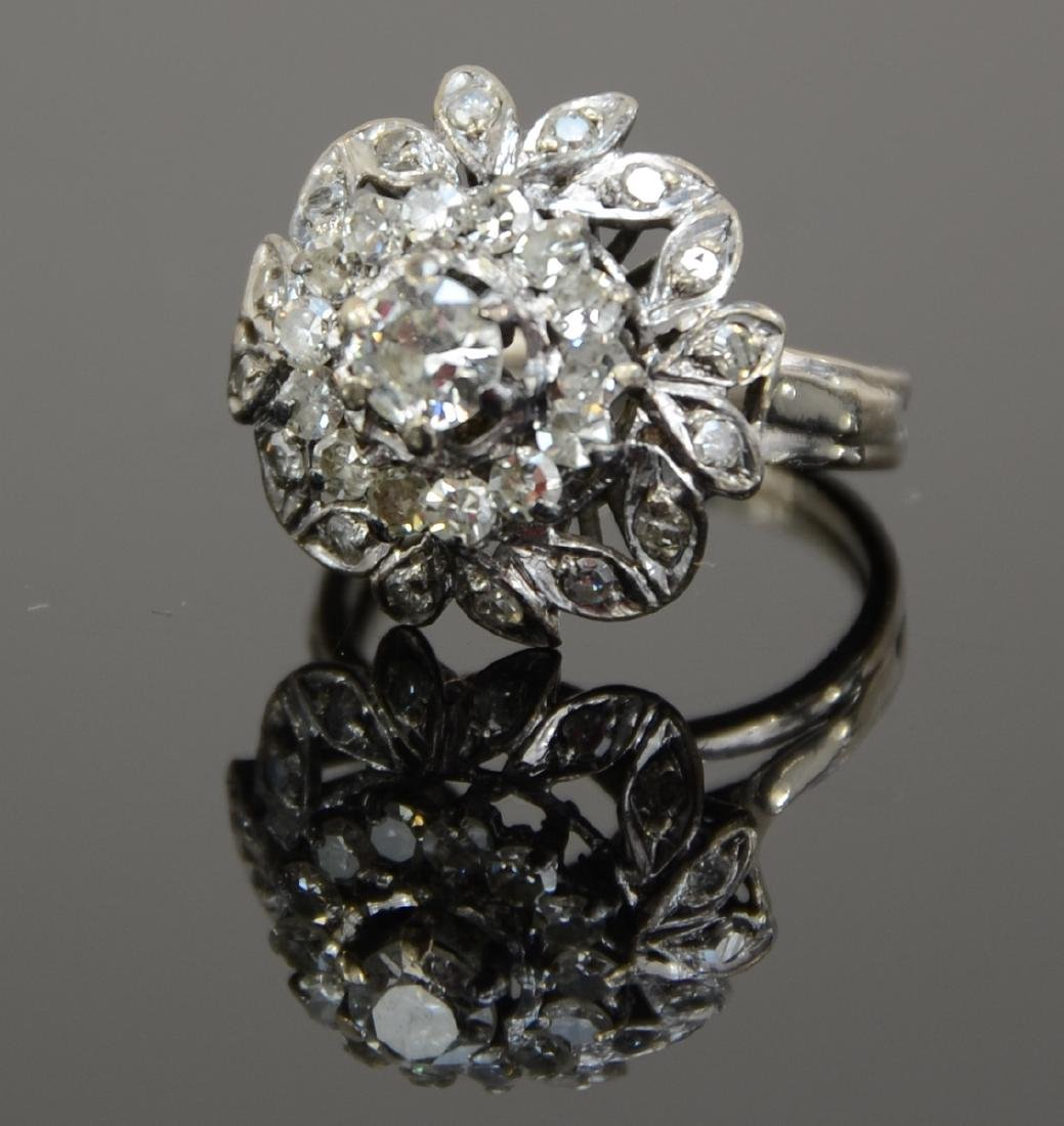 Ladies 14K Diamond Ring