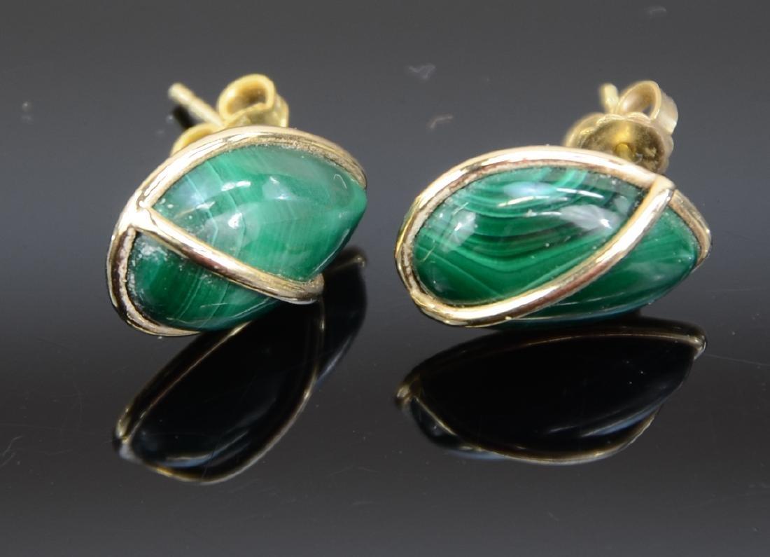 Two Pair Ladies 14K Earrings - 3