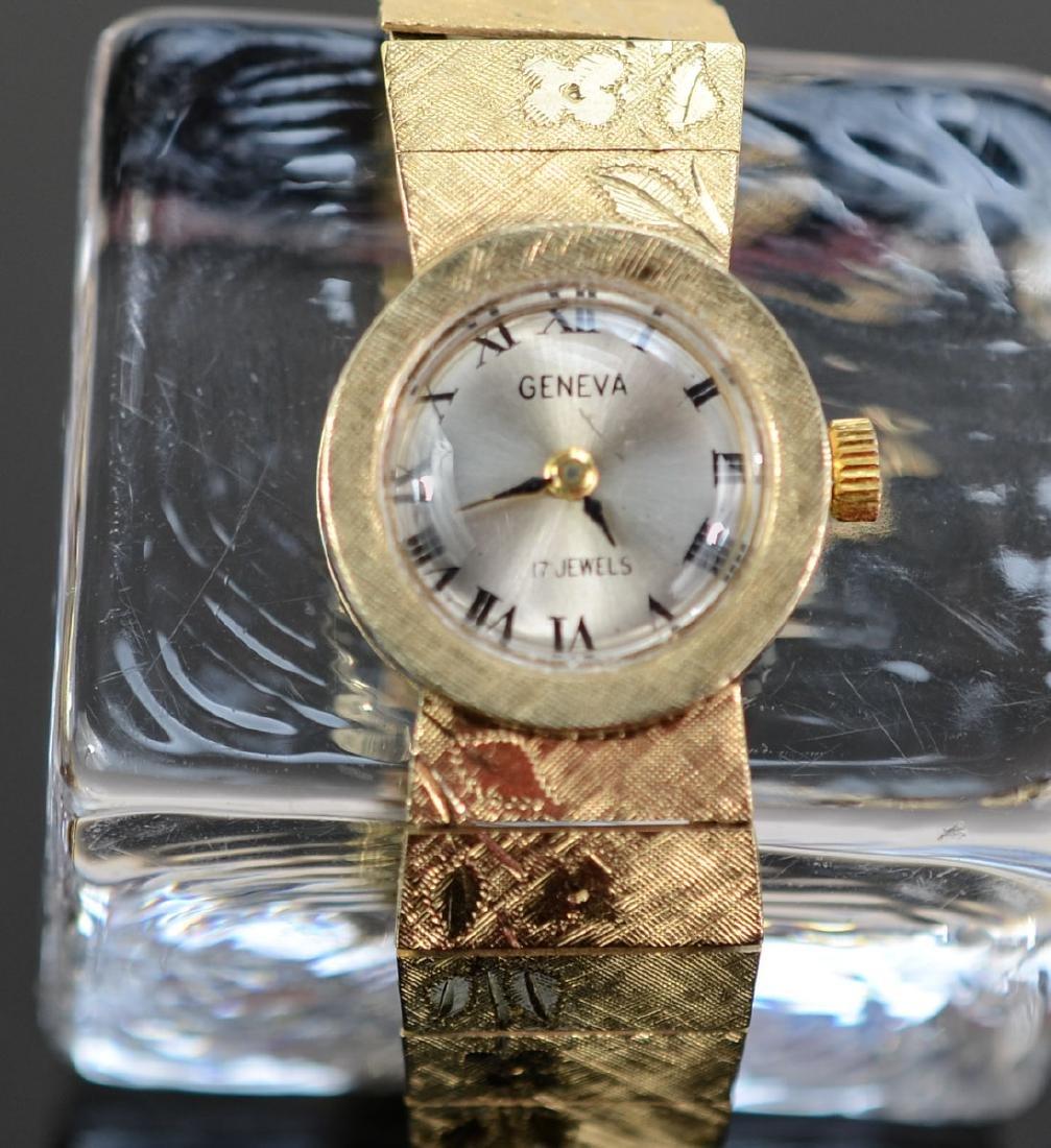Ladies 14K Geneva Wrist Watch