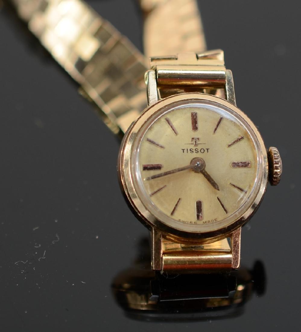 Ladies 18K Tissot Wrist Watch