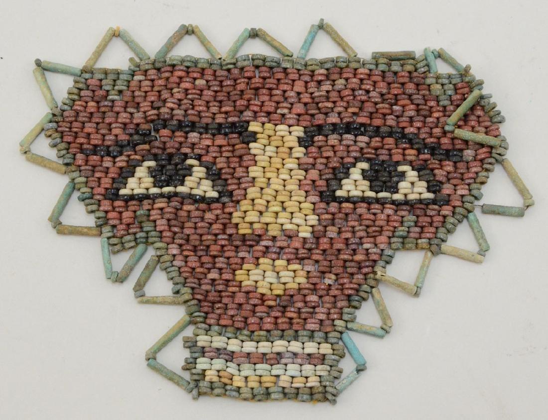 Ancient Egyptian Mummy Bead Face Mask