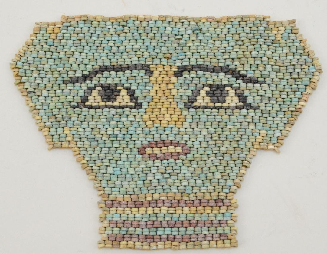 Ancient Egyptian Mummy Bead Face Mask - 2