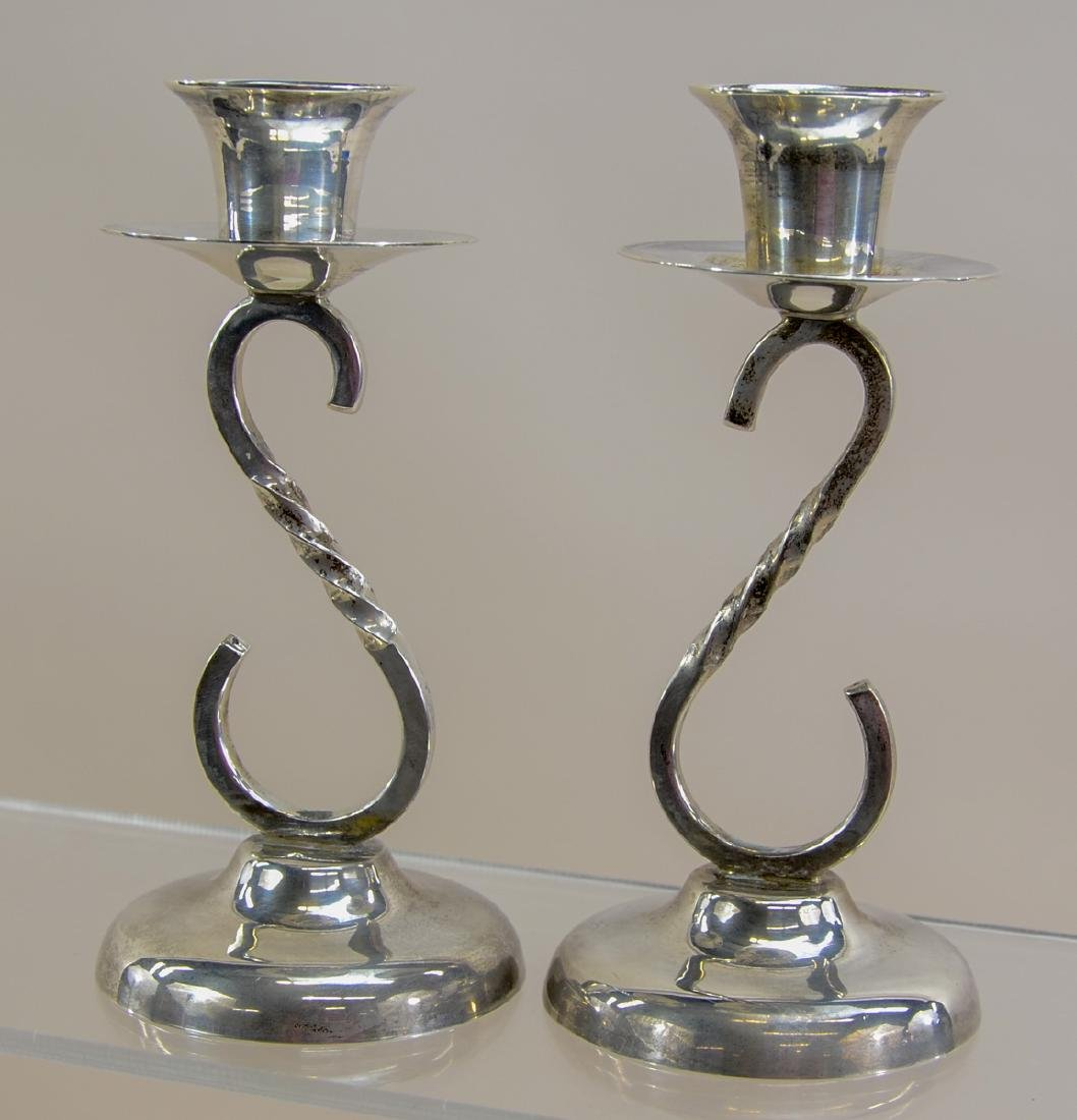Sanborns Mexico Sterling Silver Candlesticks