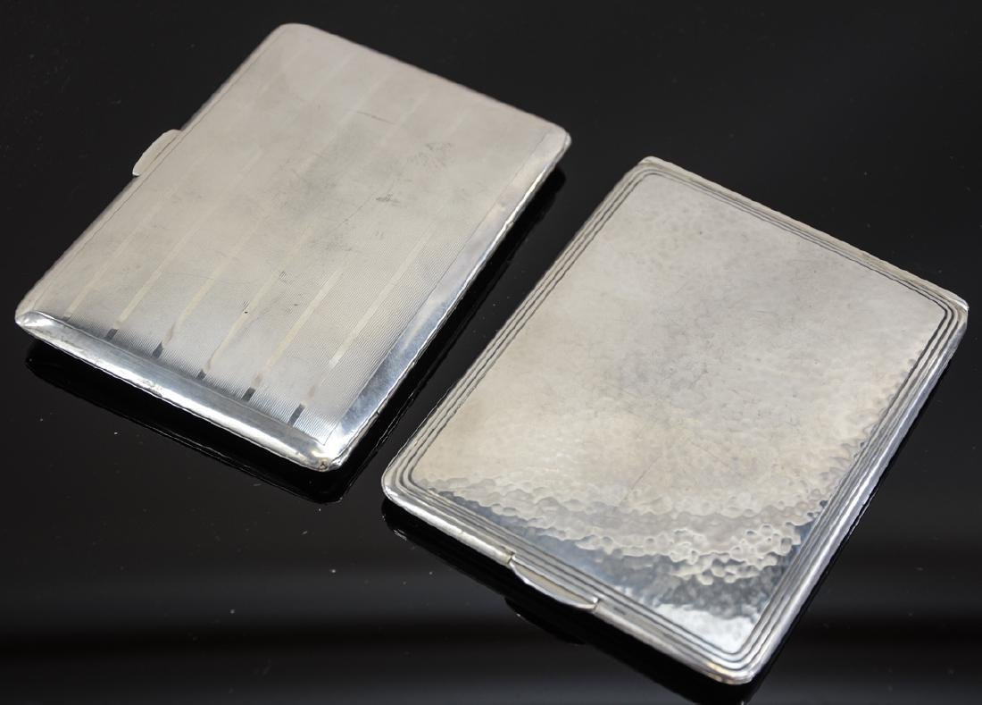 Two Sterling Silver Cigarette Cases - 4