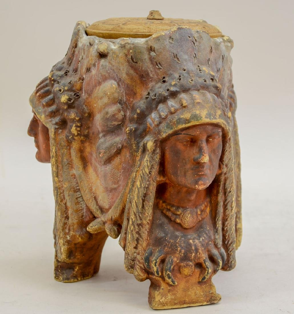 Amphora Terracotta Indian Chief Humidor