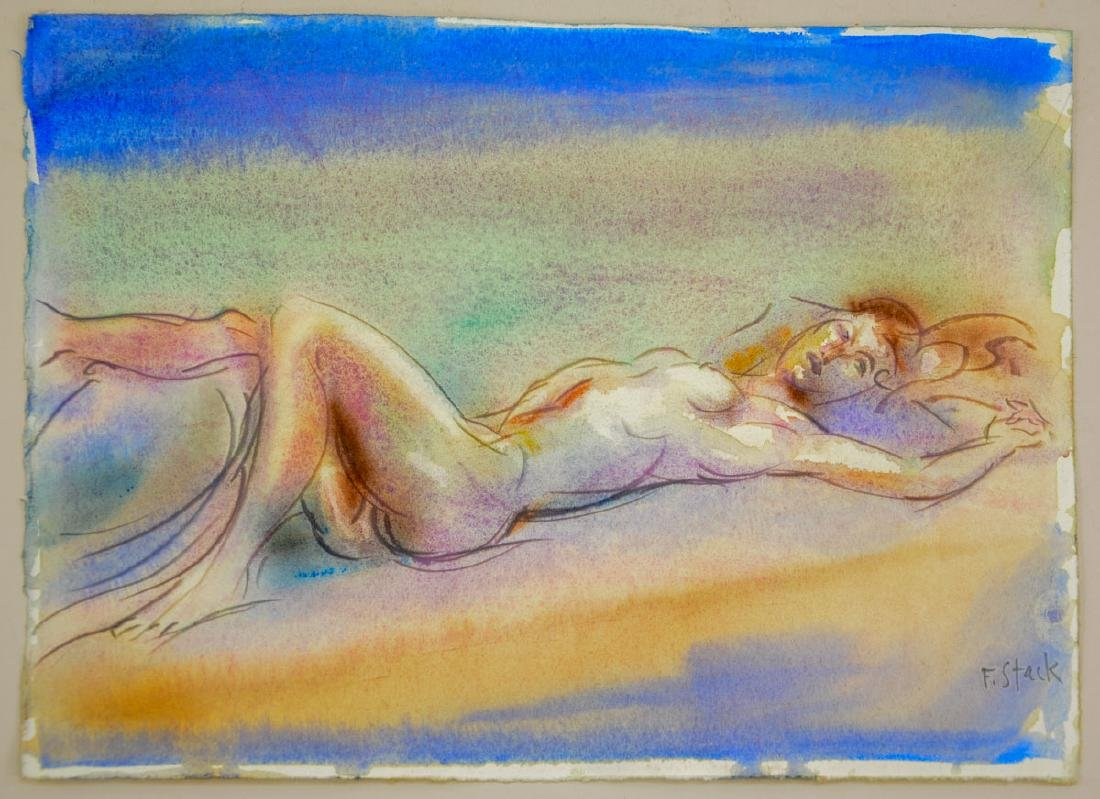 Frank Stack Watercolor Nude