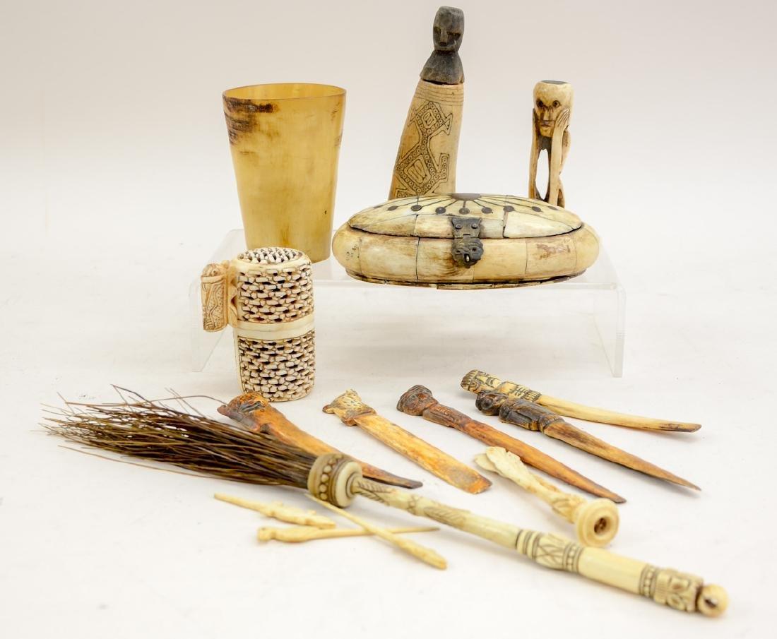 Tribal Bone Carvings
