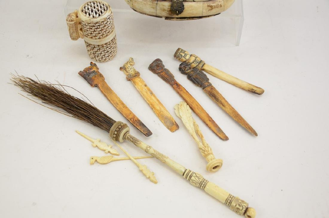 Tribal Bone Carvings - 2