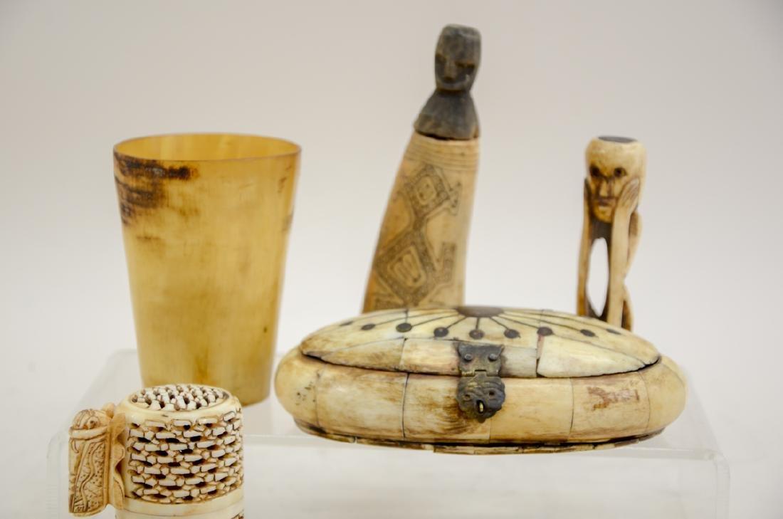 Tribal Bone Carvings - 3