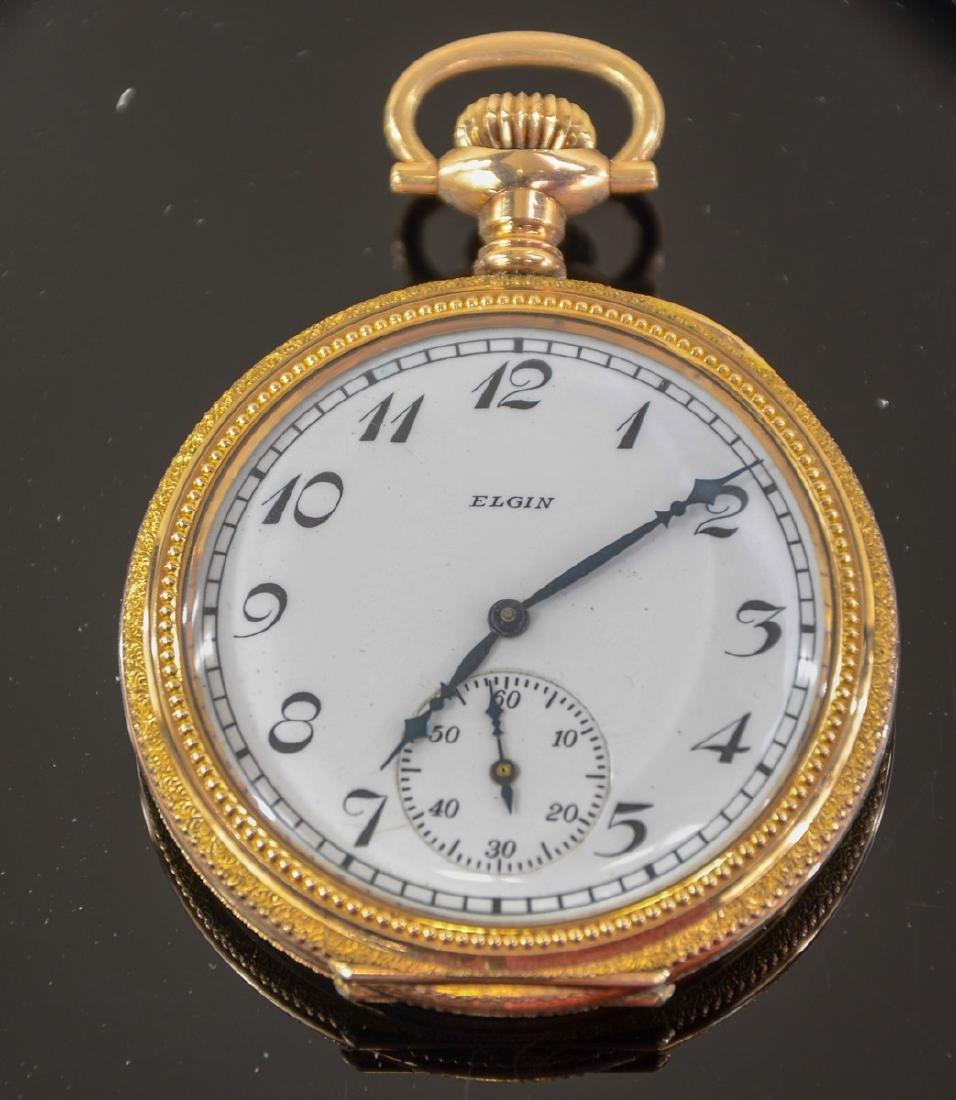Elgin Model 2 Open Face Pocket Watch