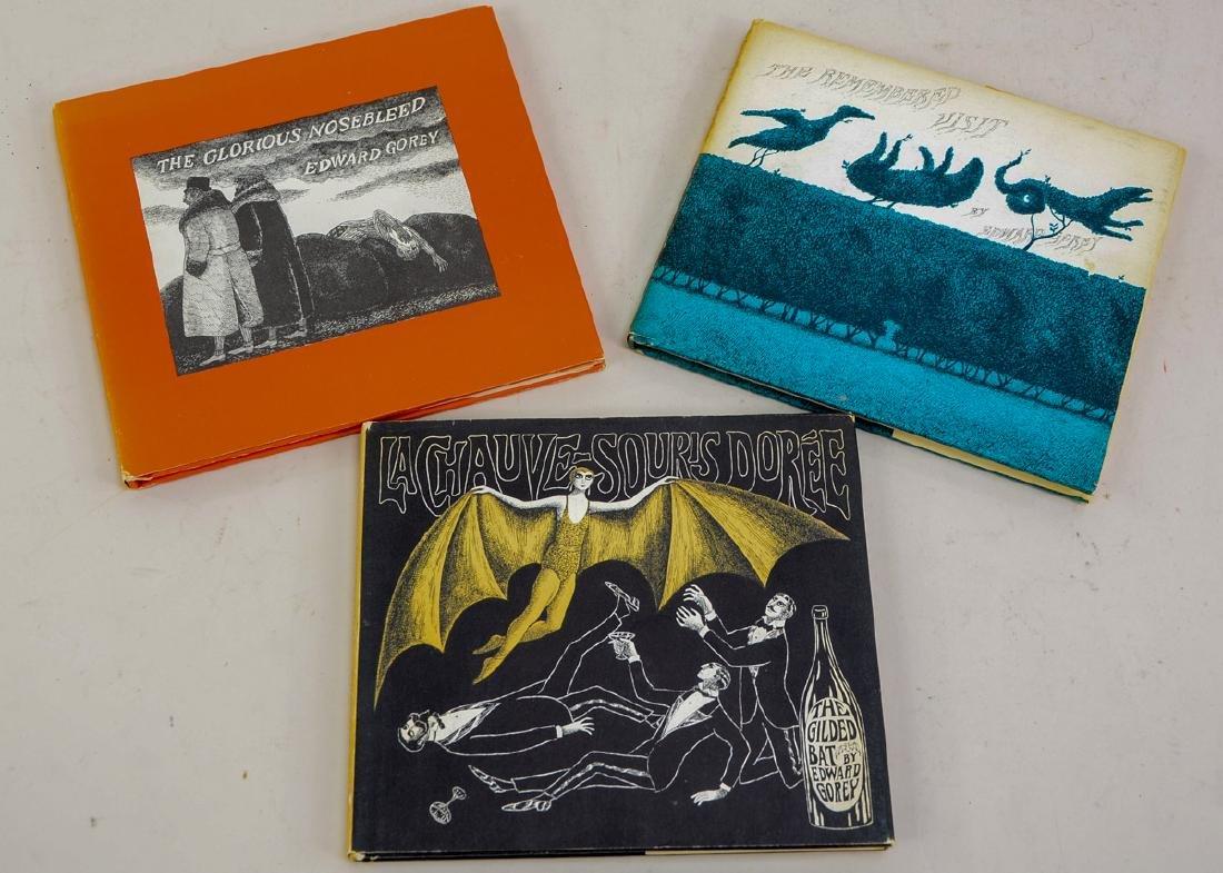 Three Edward Gorey Books