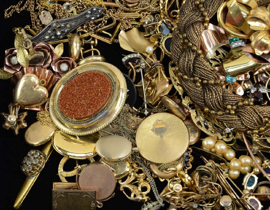 Large Group of Gold Filled Fashion Jewelry - 2