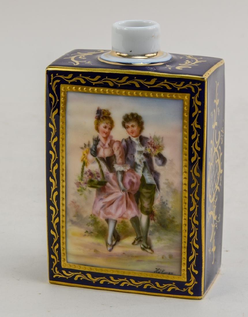 Royal Vienna Porcelain Tea Caddy