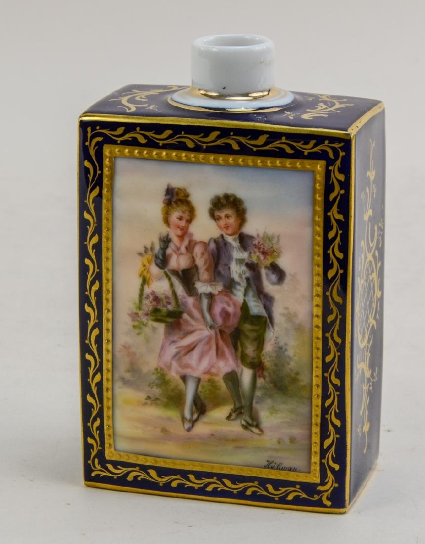 Royal Vienna Porcelain Tea Caddy