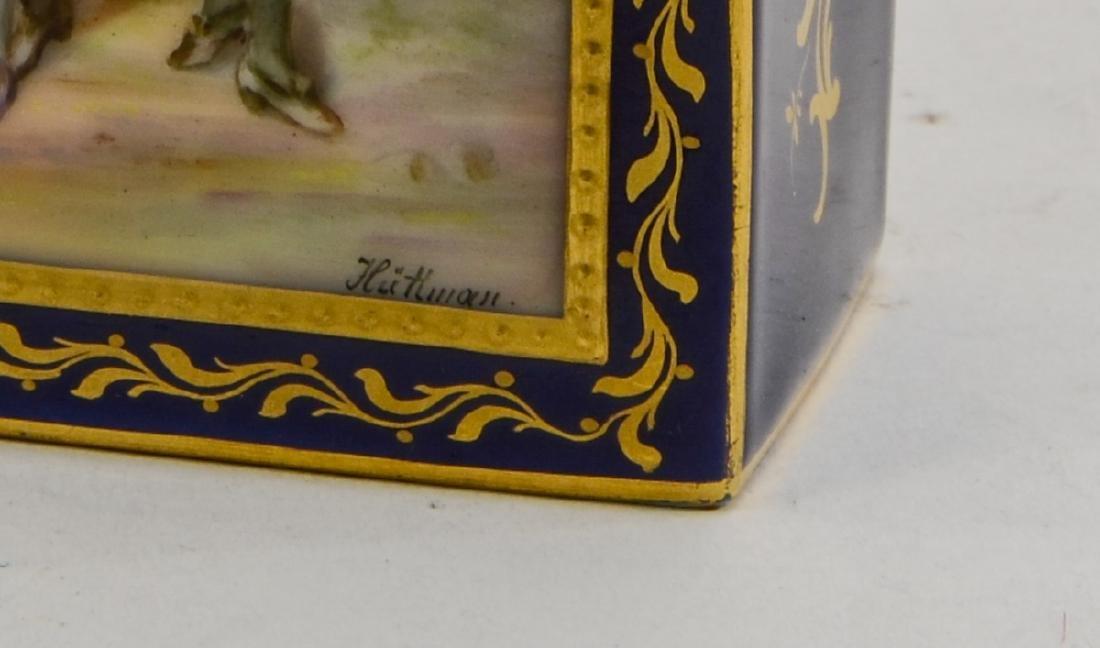 Royal Vienna Porcelain Tea Caddy - 2