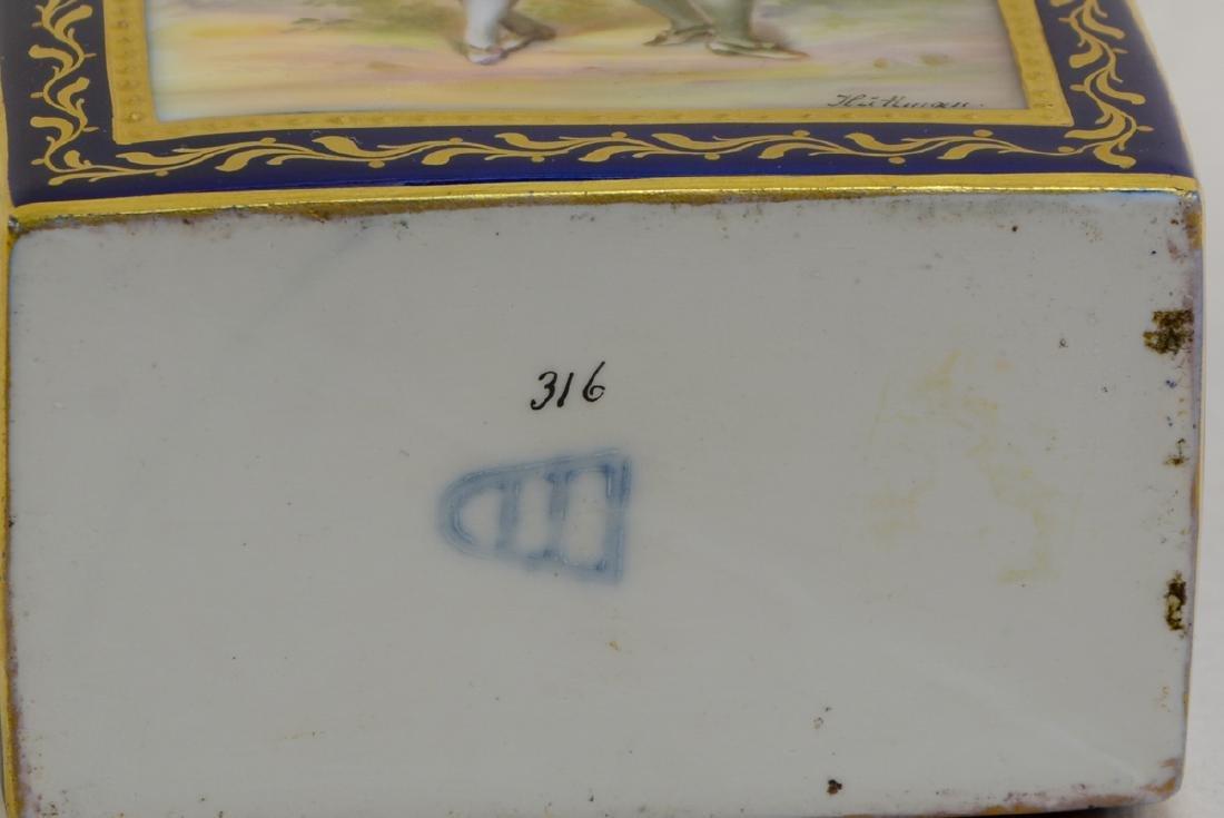 Royal Vienna Porcelain Tea Caddy - 4