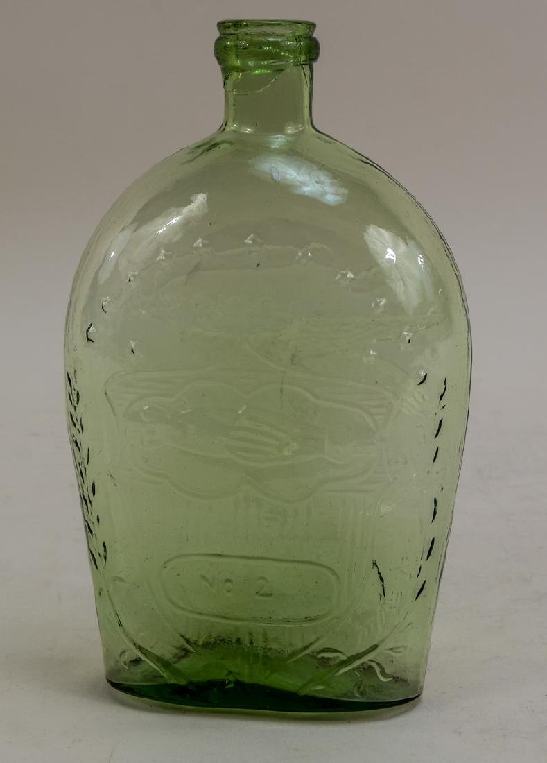 Union No. 2 Glass Flask Bottle