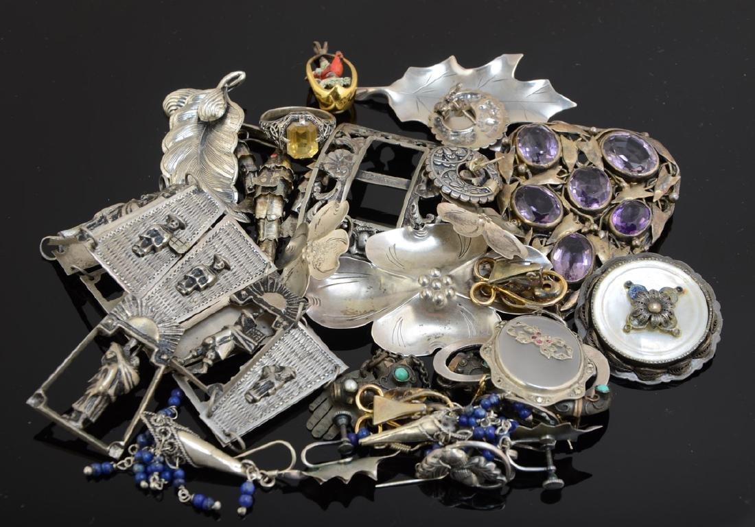 Vintage Silver Jewelry Group