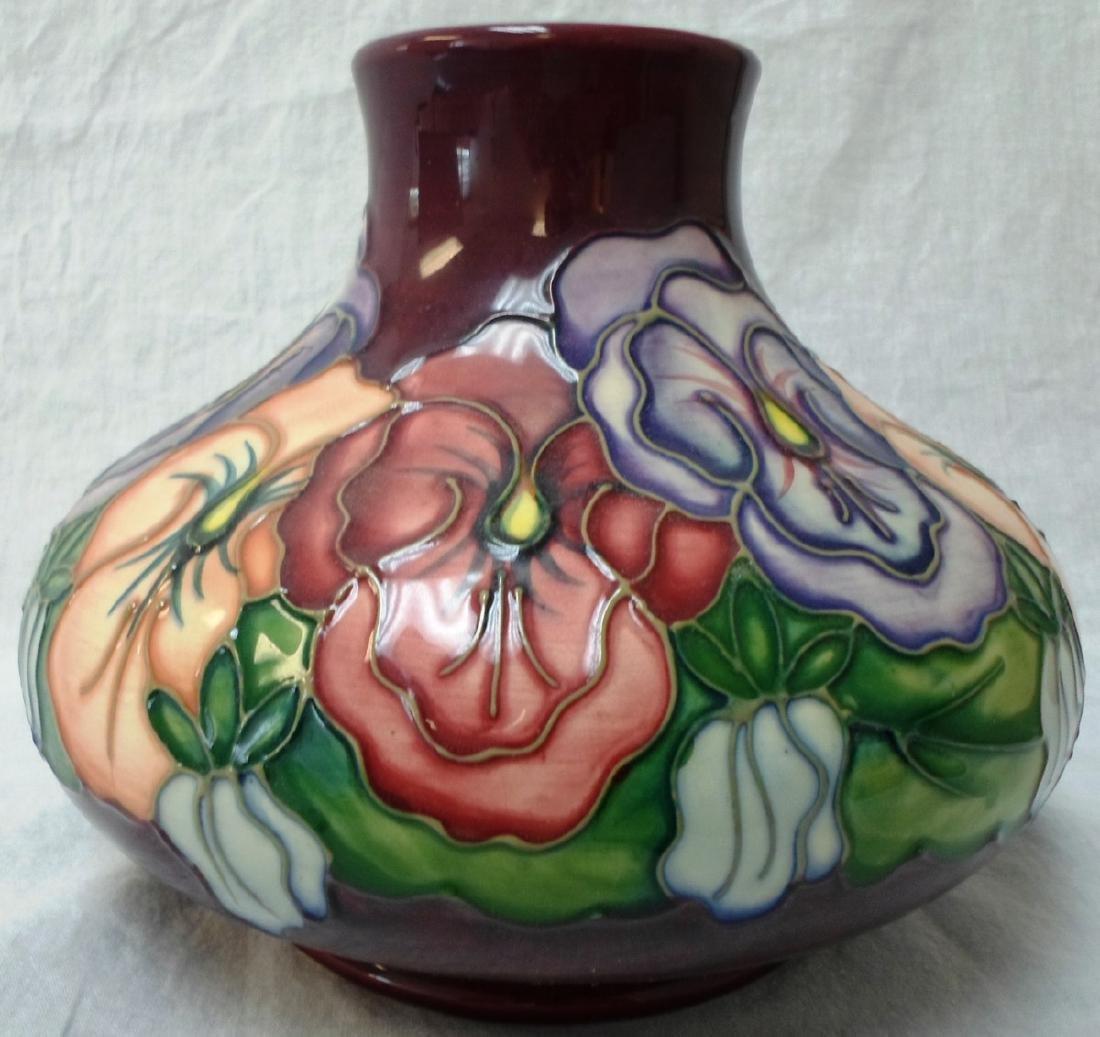 Moorcroft Vase by Barbara Mountford