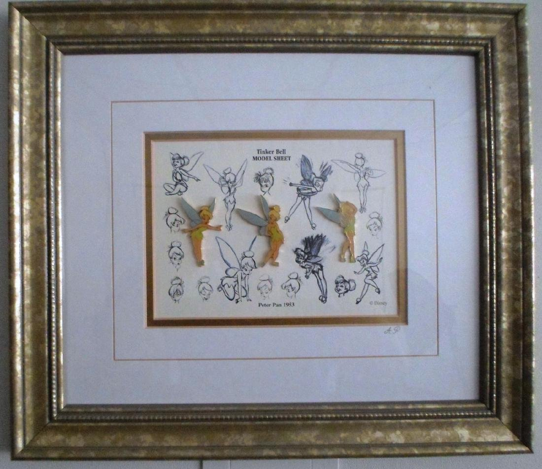 Disney Tinkerbell Sketches 3-Pin Set Limited Ed.
