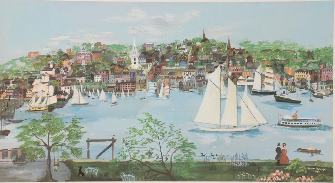 Historic Hill Newport Rhode Island