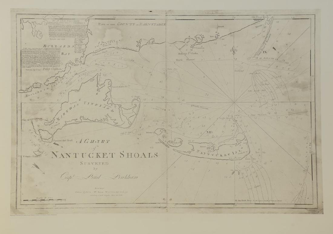 Chart of the Nantucket Shoals