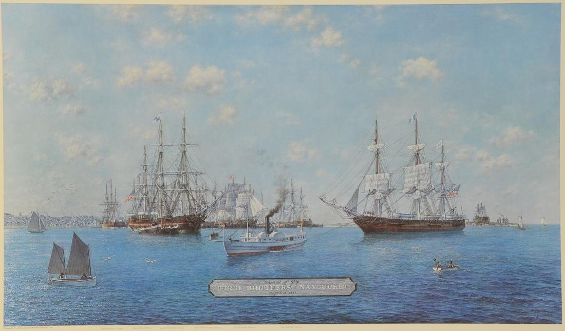 Nantucket's Whaling Fleet