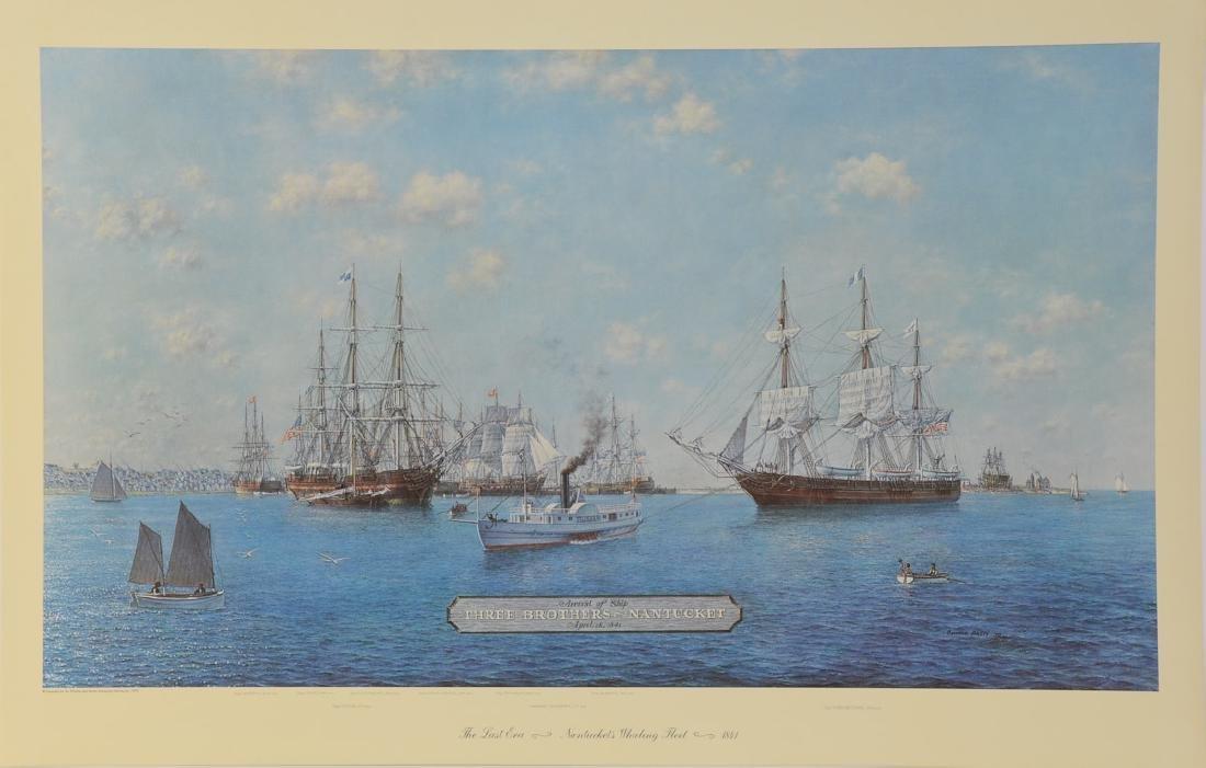 Nantucket's Whaling Fleet - 2