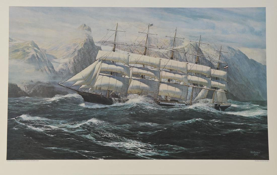 Preussen, Rounding the Horn