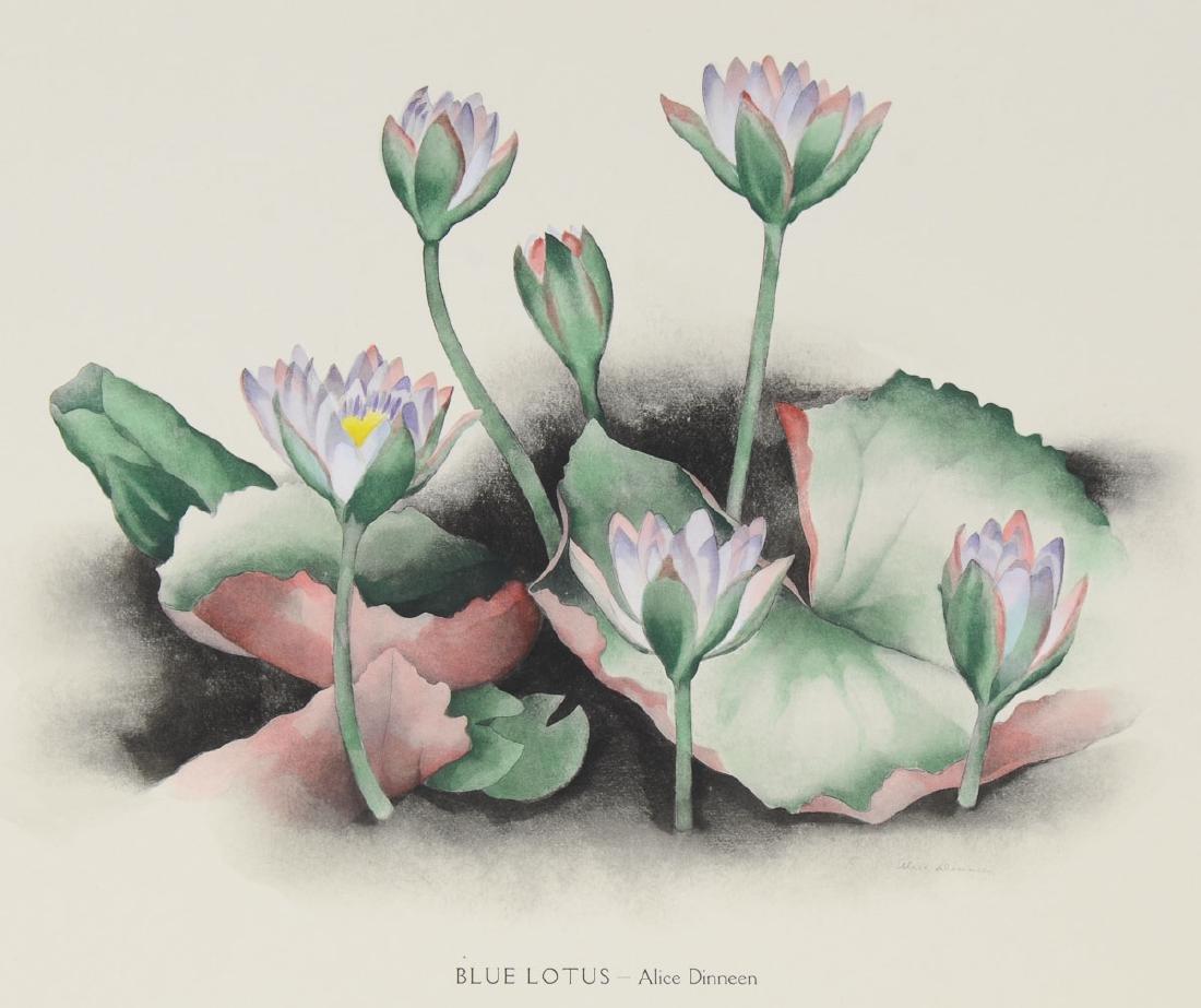 Blue Lotus - Alice Dineen