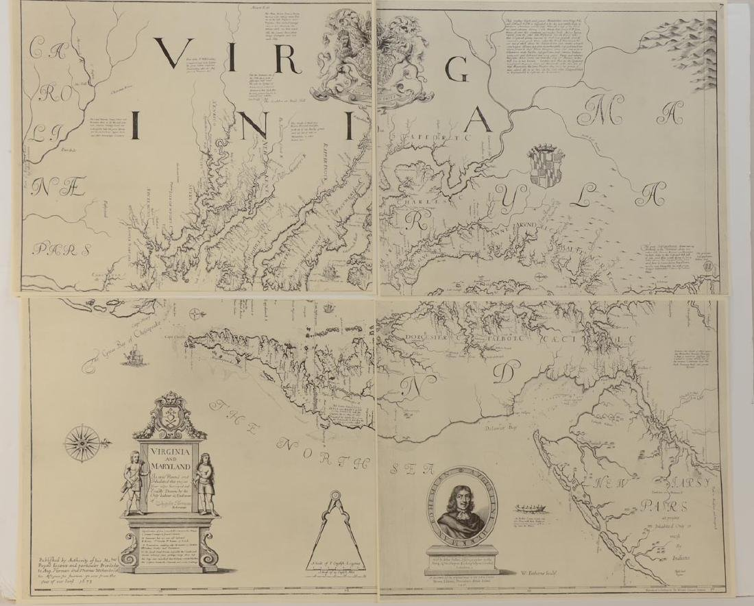 Herrman Map of Virginia & Maryland