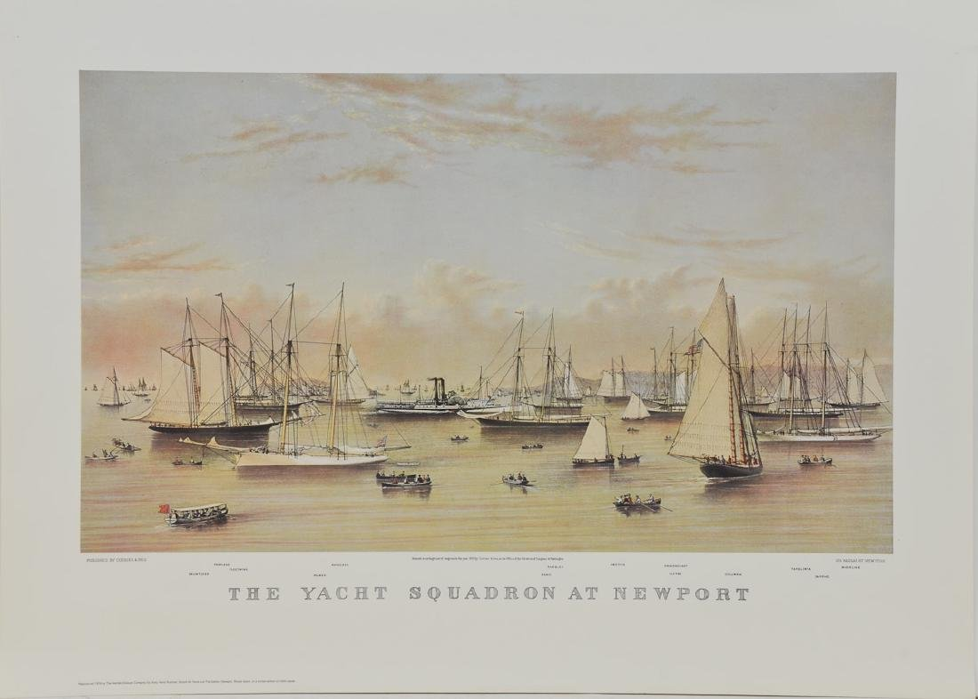 The Yacht Squadron at Newport - 2