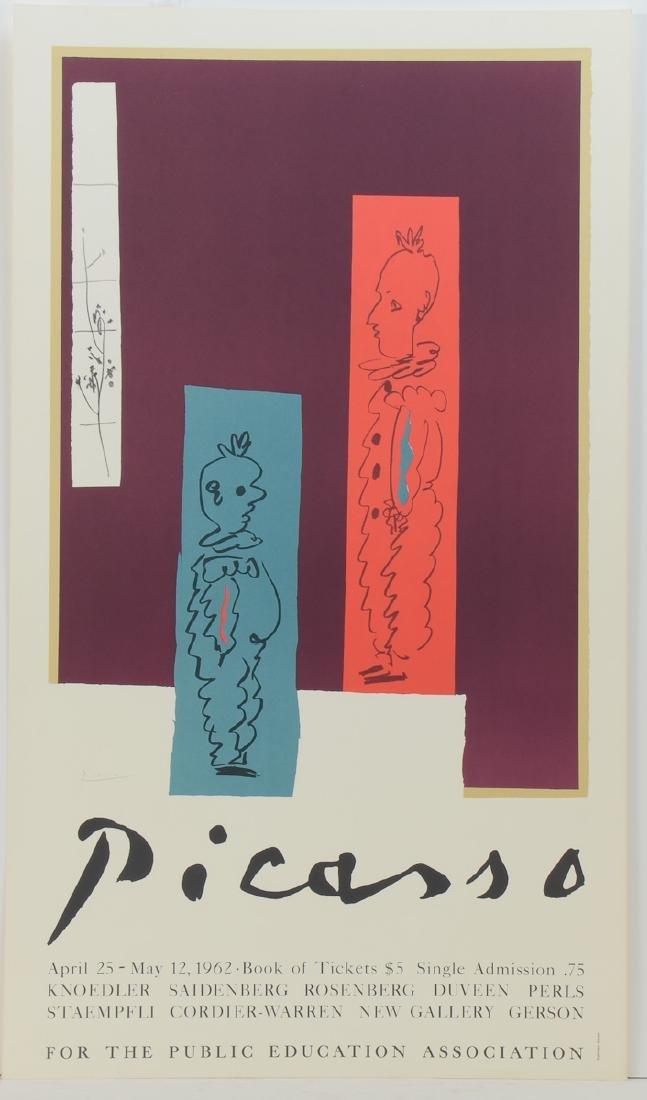 Original Picasso Museum Poster