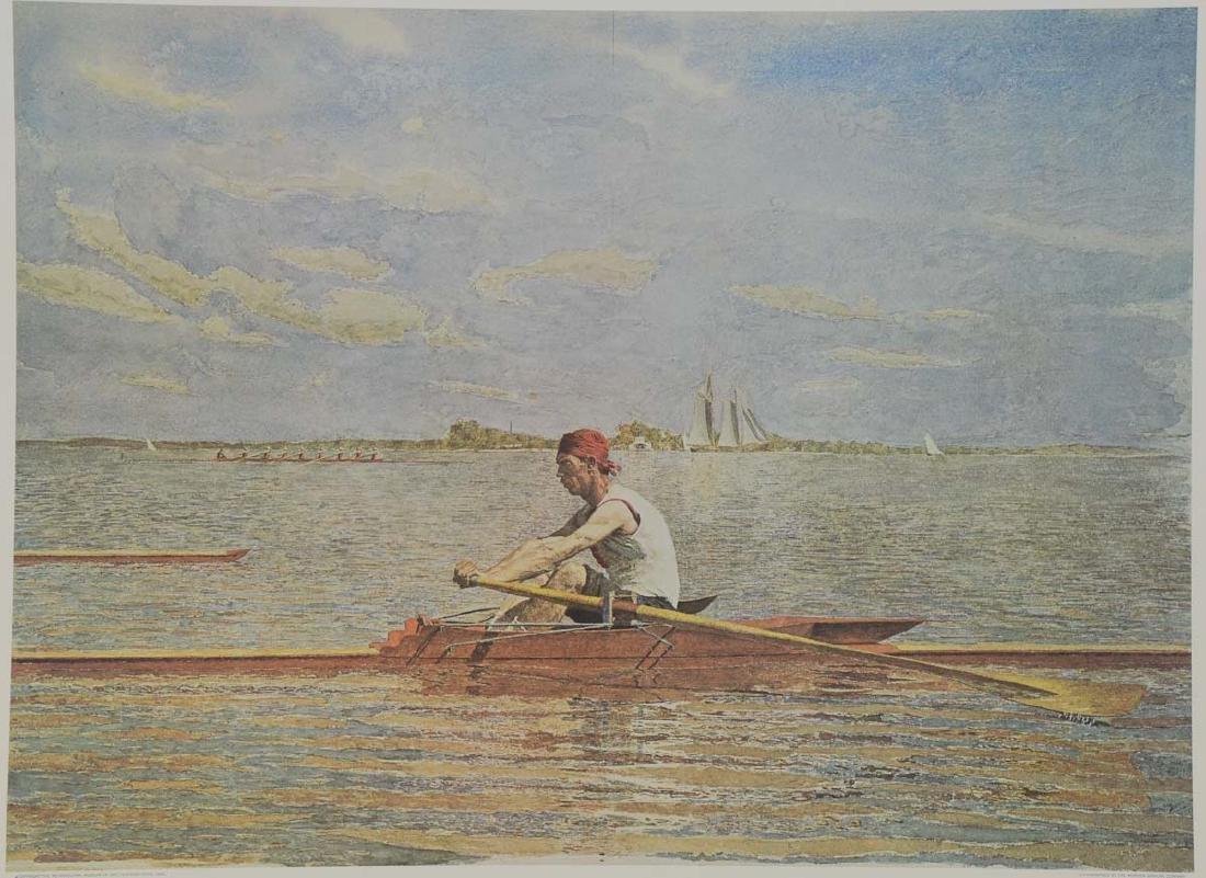 Thomas Eakins Lithograph