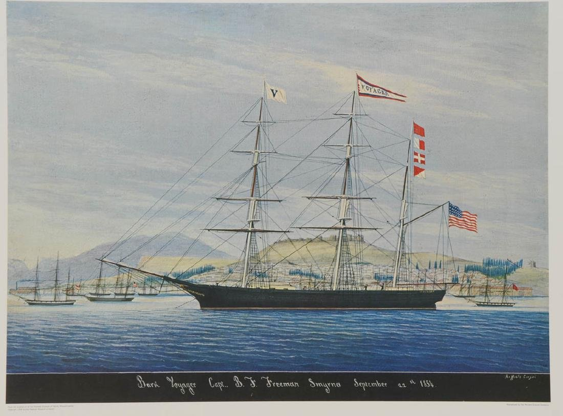 Bark Ship Voyager after Raffaele Corsini