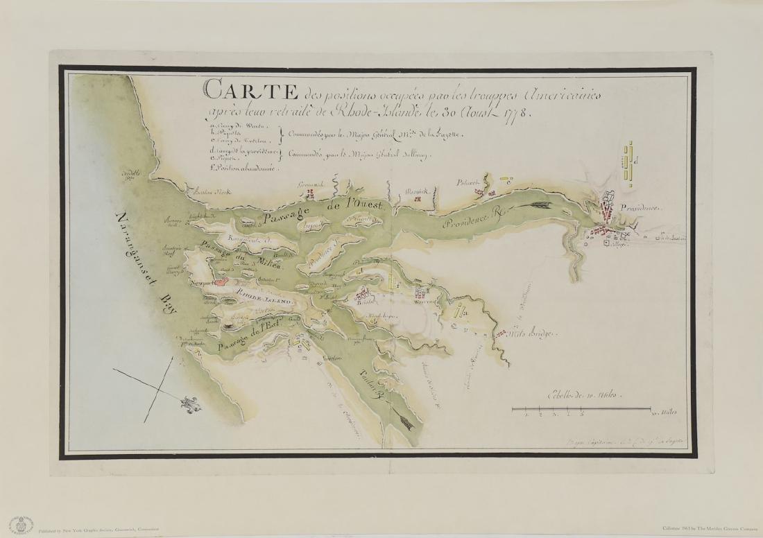 Early Rhode Island Map: - 2
