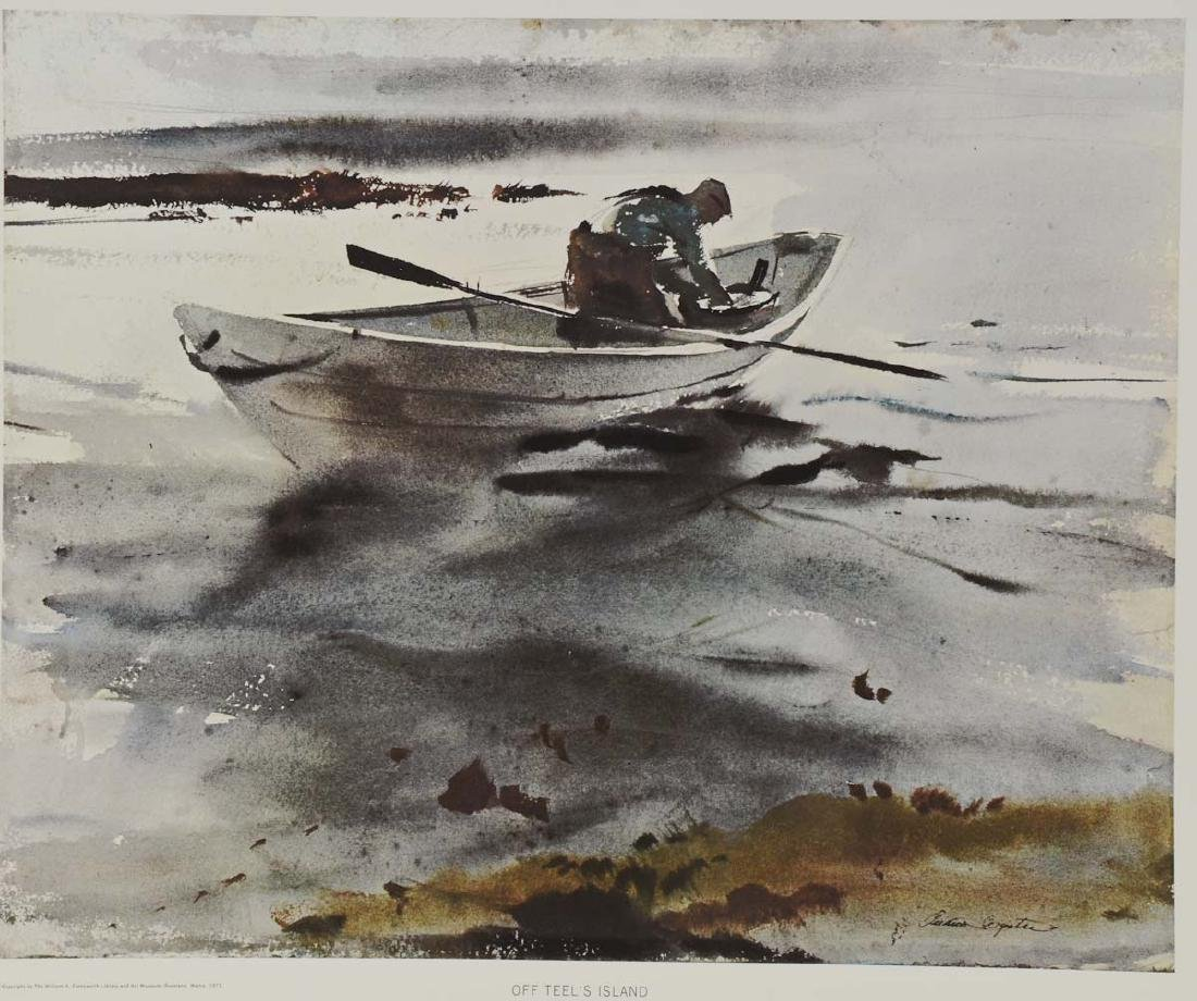 Andrew Wyeth: Off Teels Island