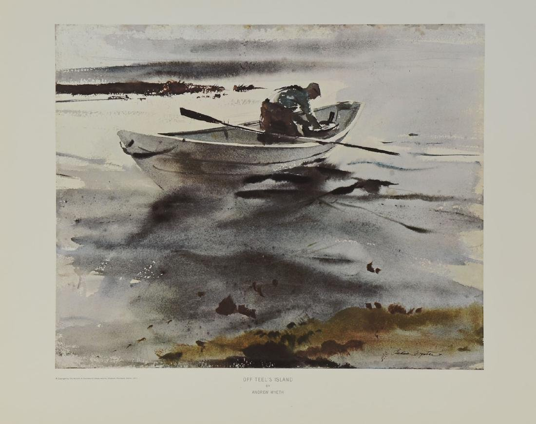 Andrew Wyeth: Off Teels Island - 2