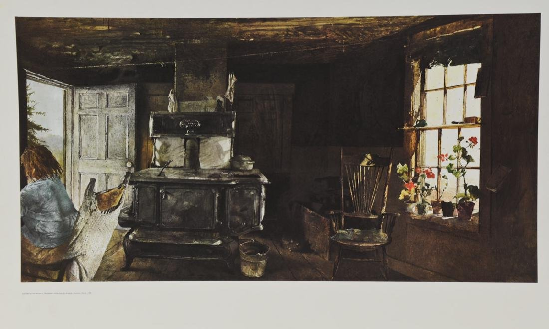 Andrew Wyeth: Woodstove From Christina's World