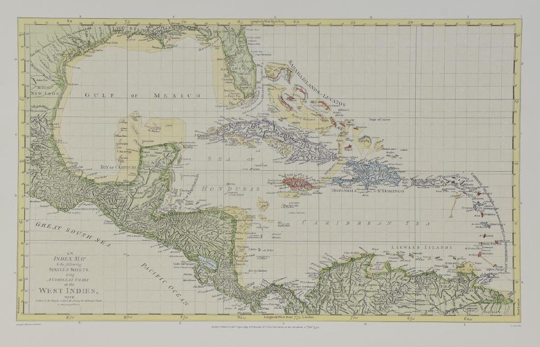 Early Map of the West Indies
