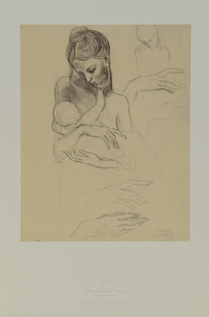 Pablo Picasso: Mother Holding Child - 2