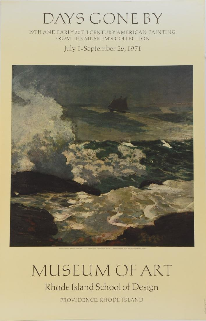 Winslow Homer Museum Exhibition Poster