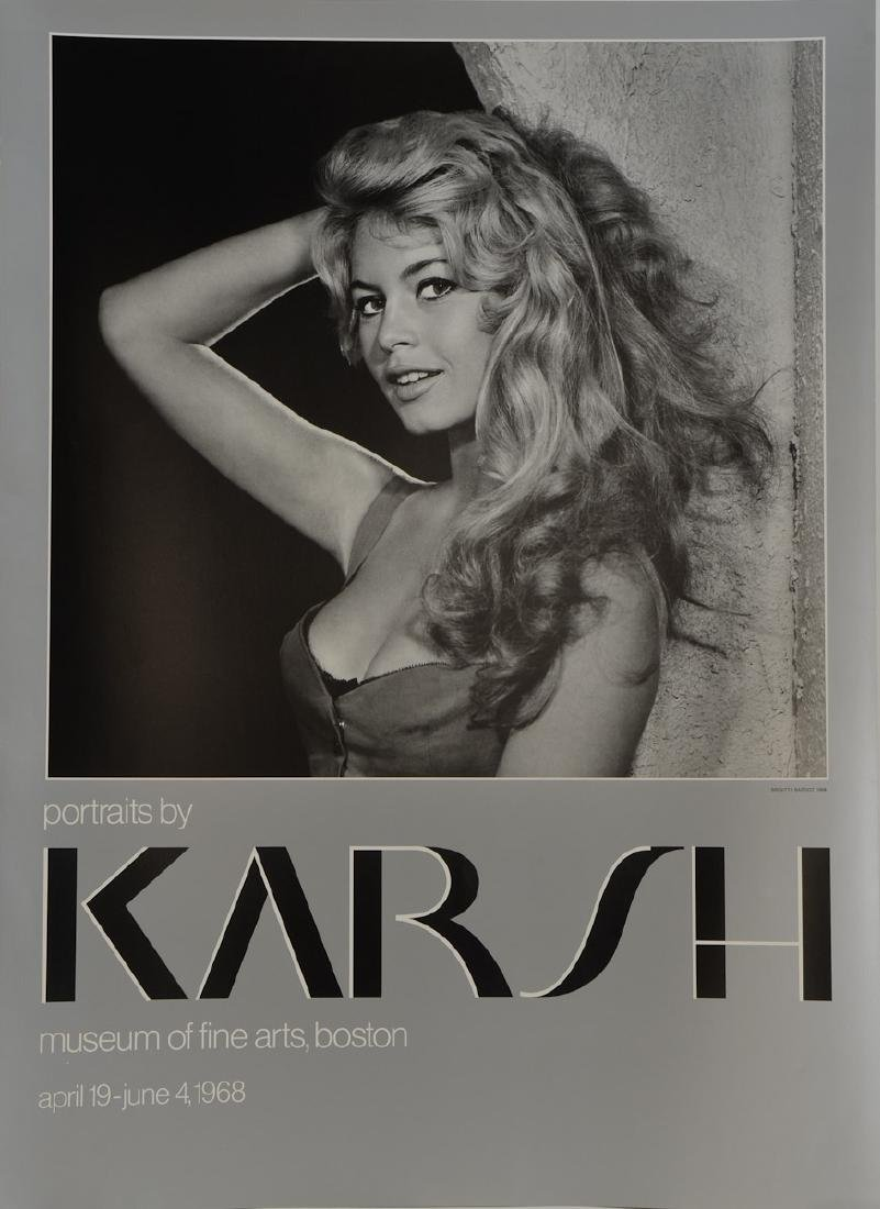 Yousef Karsh Photo Exhibition Poster