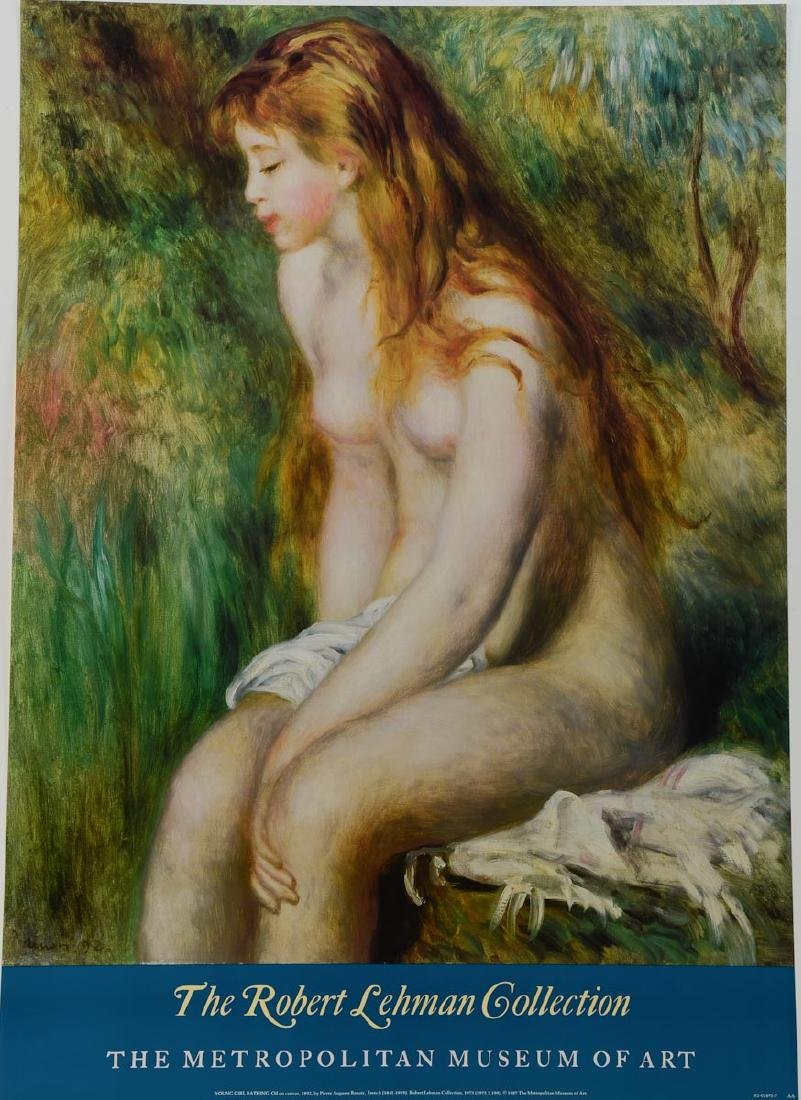 Pierre August Renoir Exhibition Poster