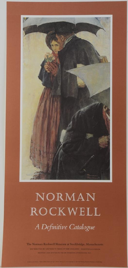 Norman Rockwell Exhibition Poster