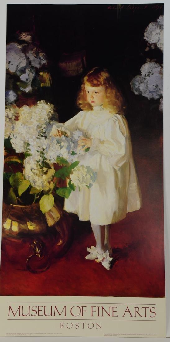 John Singer Sargent Exhibition Poster