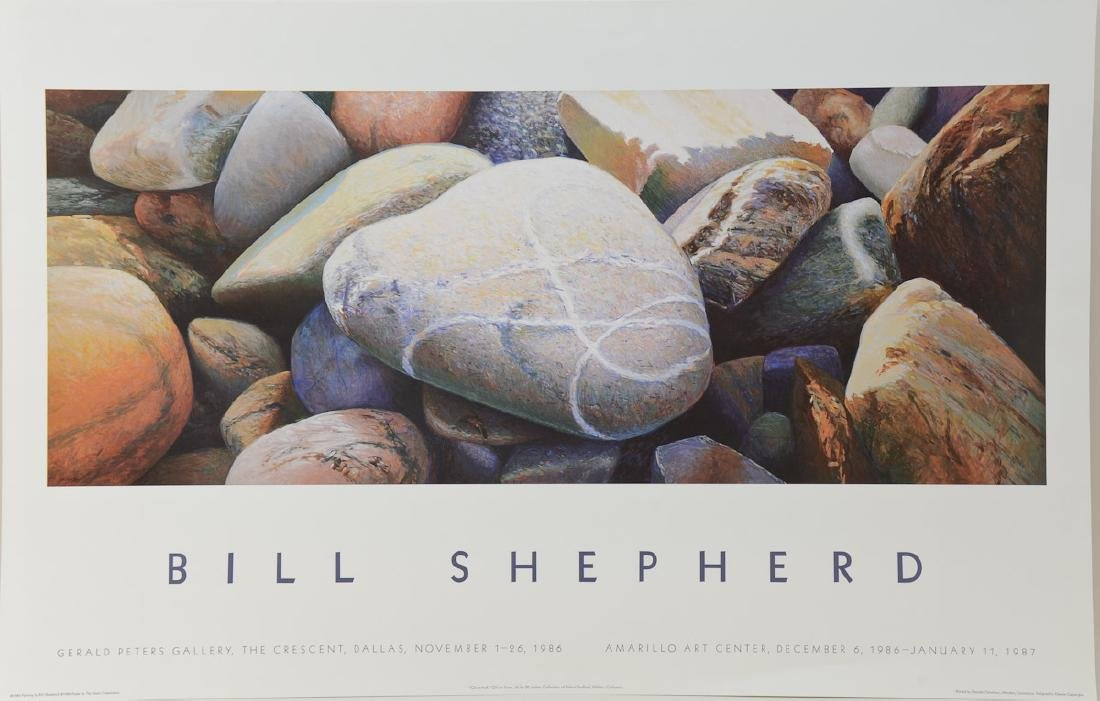 Bill Shepherd Exhibition Poster
