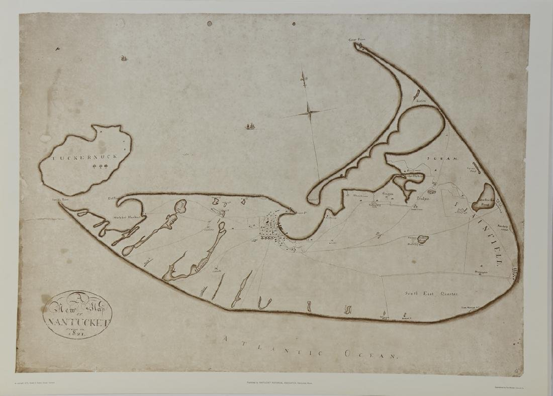 A new map of Nantucket drawn in 1821