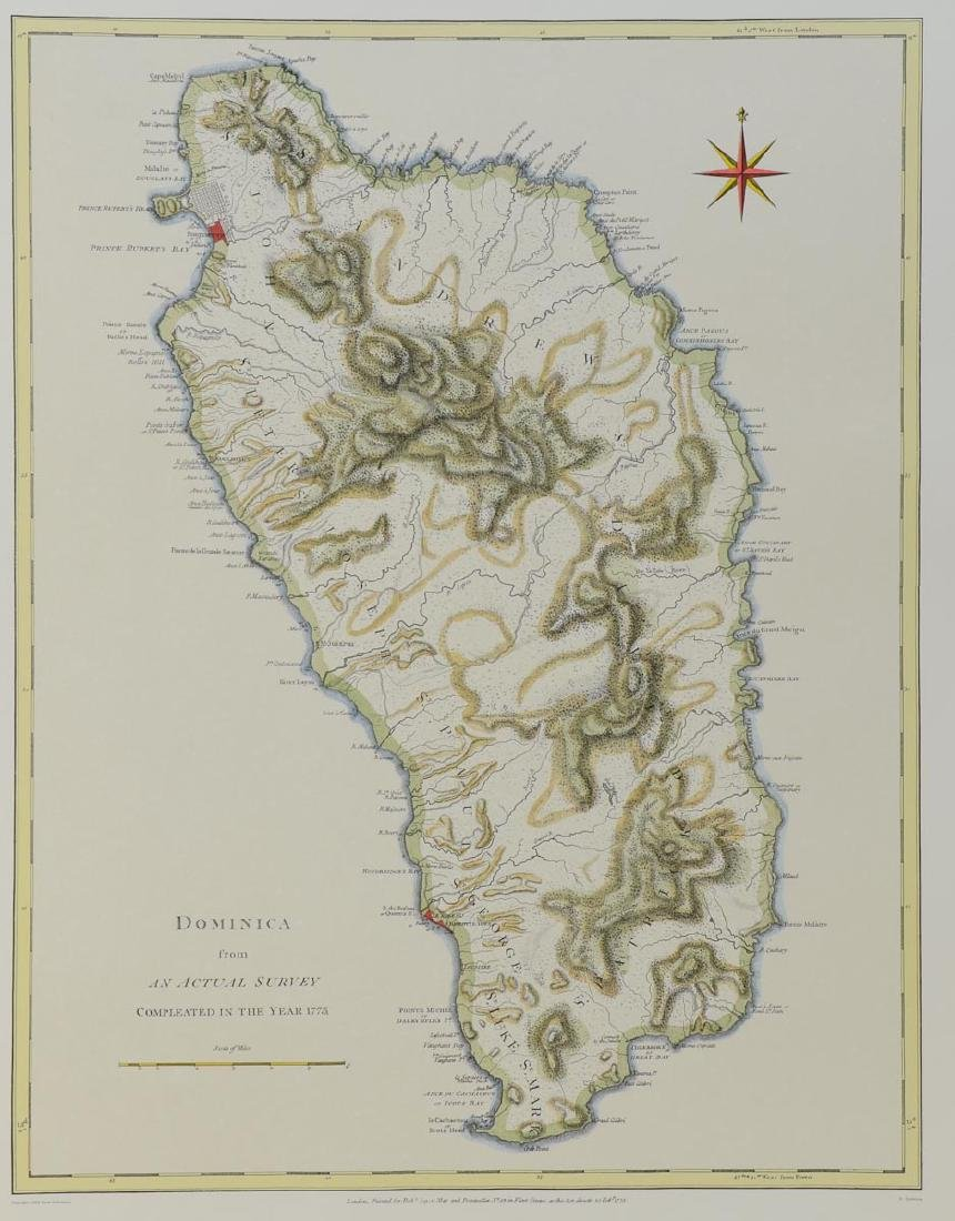Early Map of Dominica