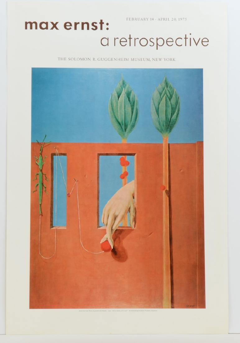 Max Ernst Museum Poster Lithograph